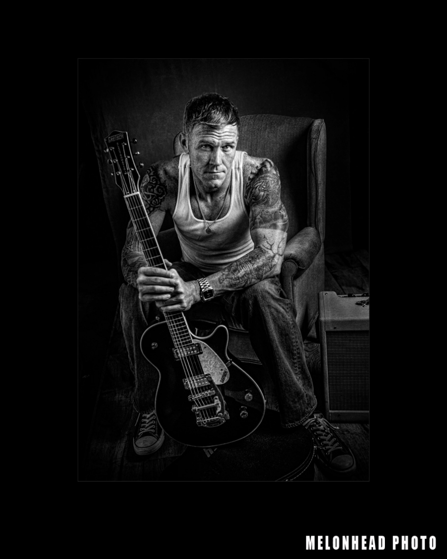 """Rockabilly"" wins Distinguished Print Ribbon in Portrait of a Man Category"