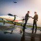 professional aviation photographer lear jet executive